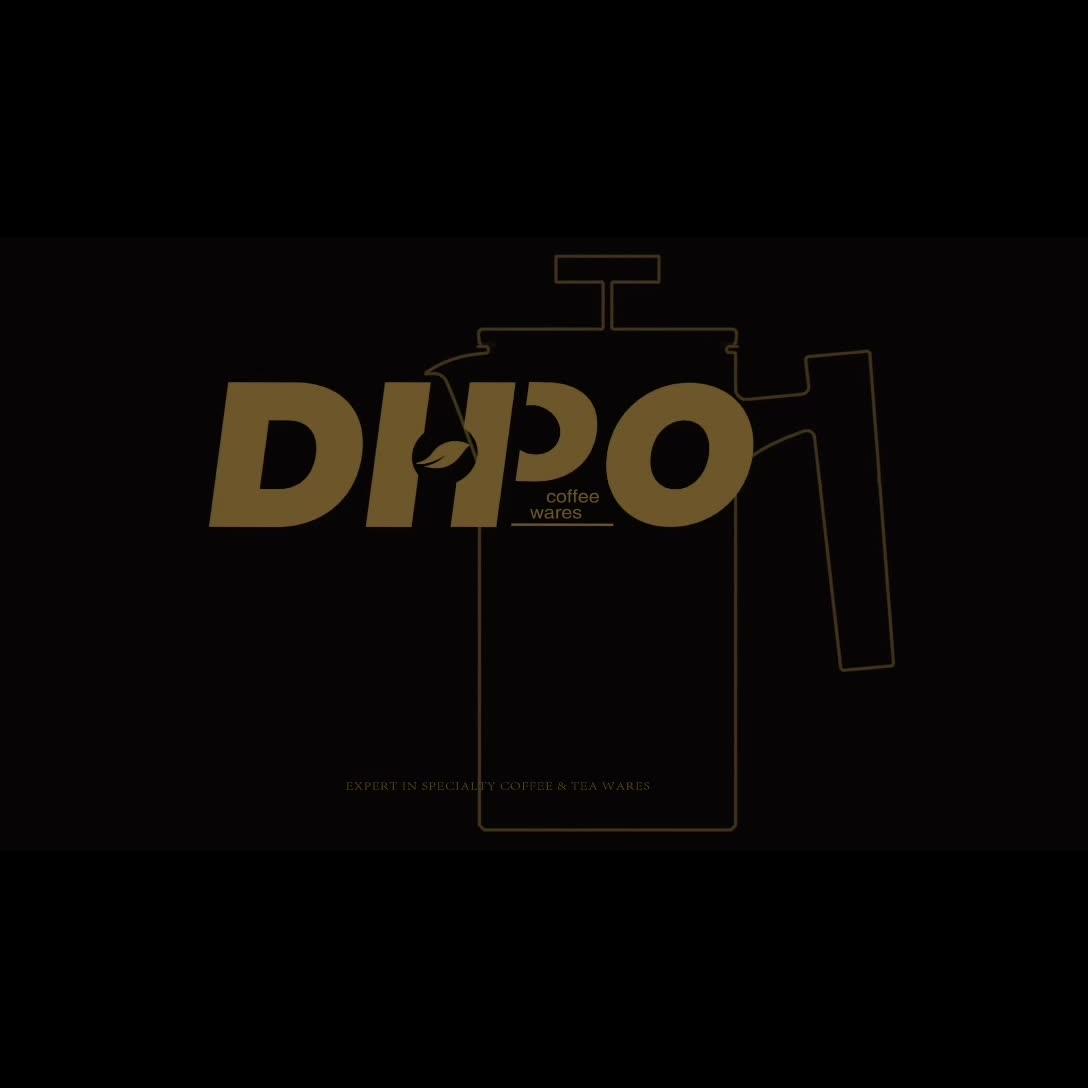 Dhpo Keramik Tuangkan Kopi dengan Pembuat Kopi Dripper Set