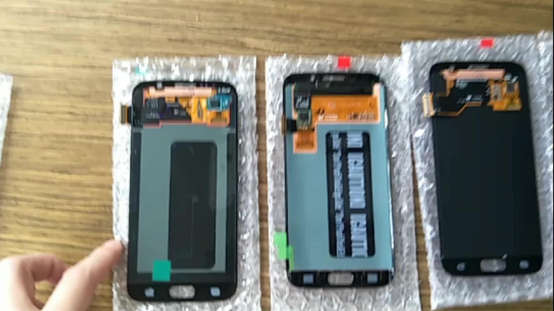 LCD Voor Samsung S2 S3 S4 S5 S6 rand Note 2 3 4 5 8 9 Lcd scherm Reparatie, lcd opknappen service, scherm lcd