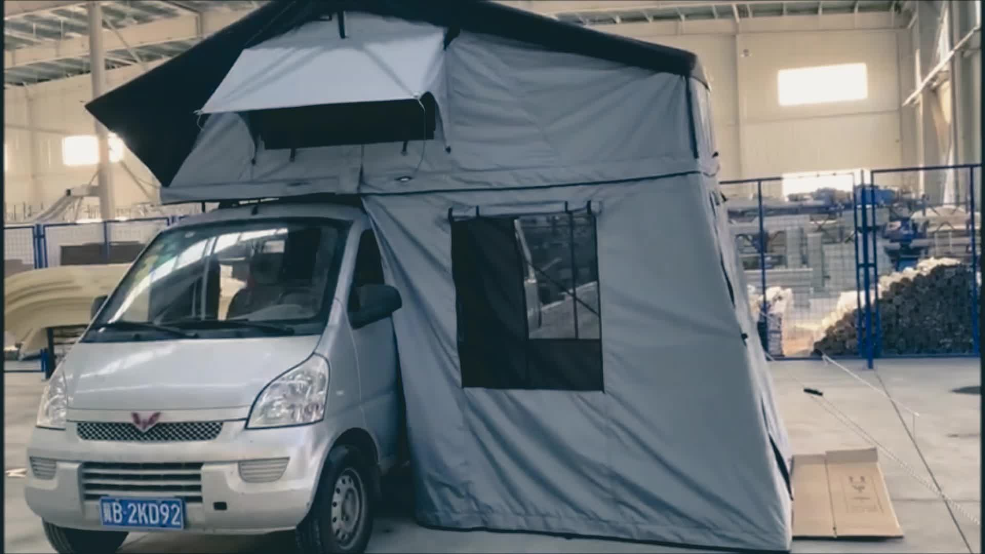4WD Offroad Car Camping Roof Top Tent from roof tent factory