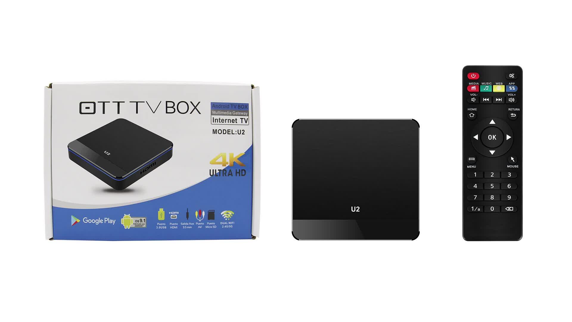 Nuovi Prodotti Su Misura Supporto PVR Del Mondo Max Tv Box di Controllo Remoto