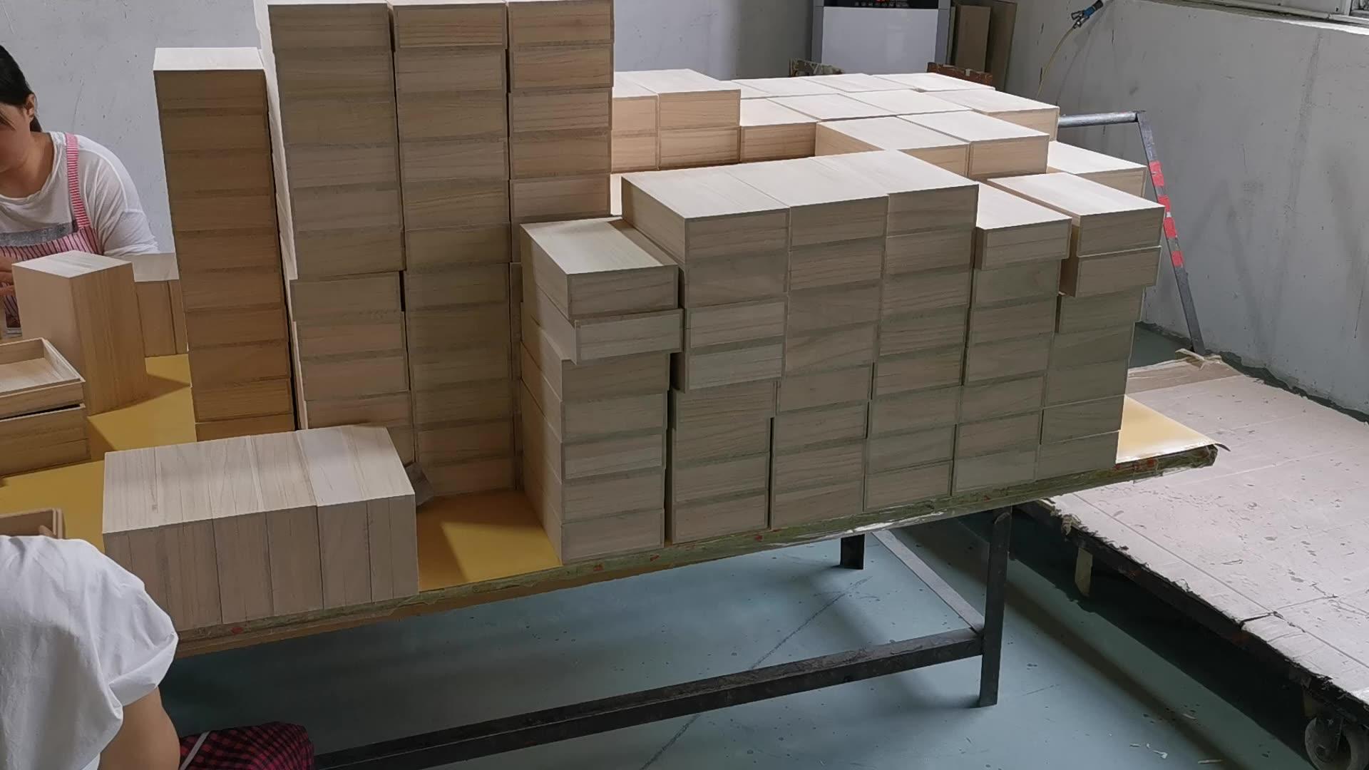Kotak Hadiah Paket Kotak Kayu, Harga Pabrik Langsung Berkualitas Tinggi Kotak Hadiah Kayu