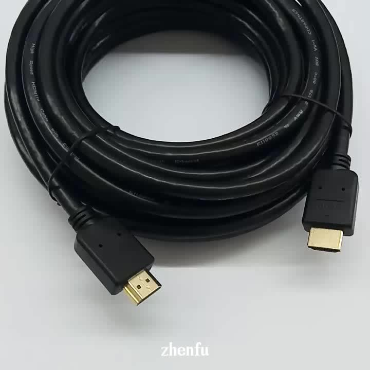 Hot sale dual angled 90 Degree high speed 3D 4K 60Hz 18Gbps 24k gold plated male to male 0185HDMI cable