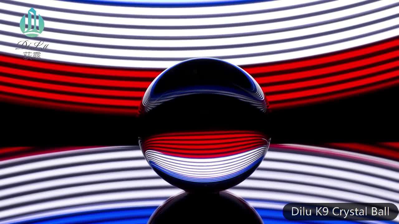 2018 K9 Crystal Ball decorative clear crystal ball for sale