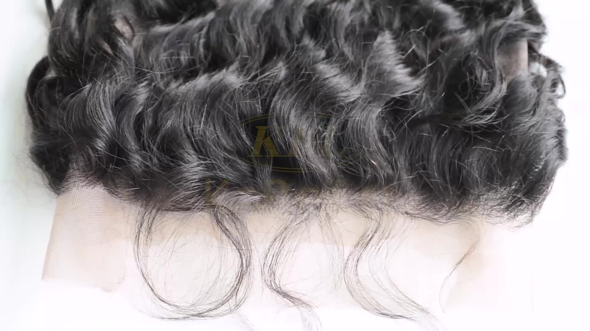 Top selling 360 hair lace front wig 16 inches,full frontal wig with baby hairs,deep wave ponytail 360 lace frontal wig
