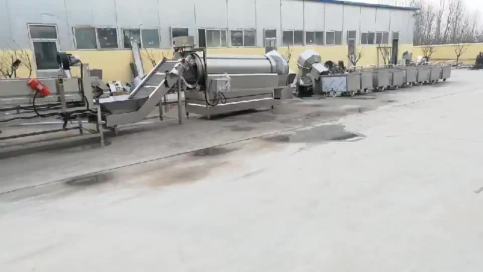 Frozen french fries machine for sale/french fries equipment