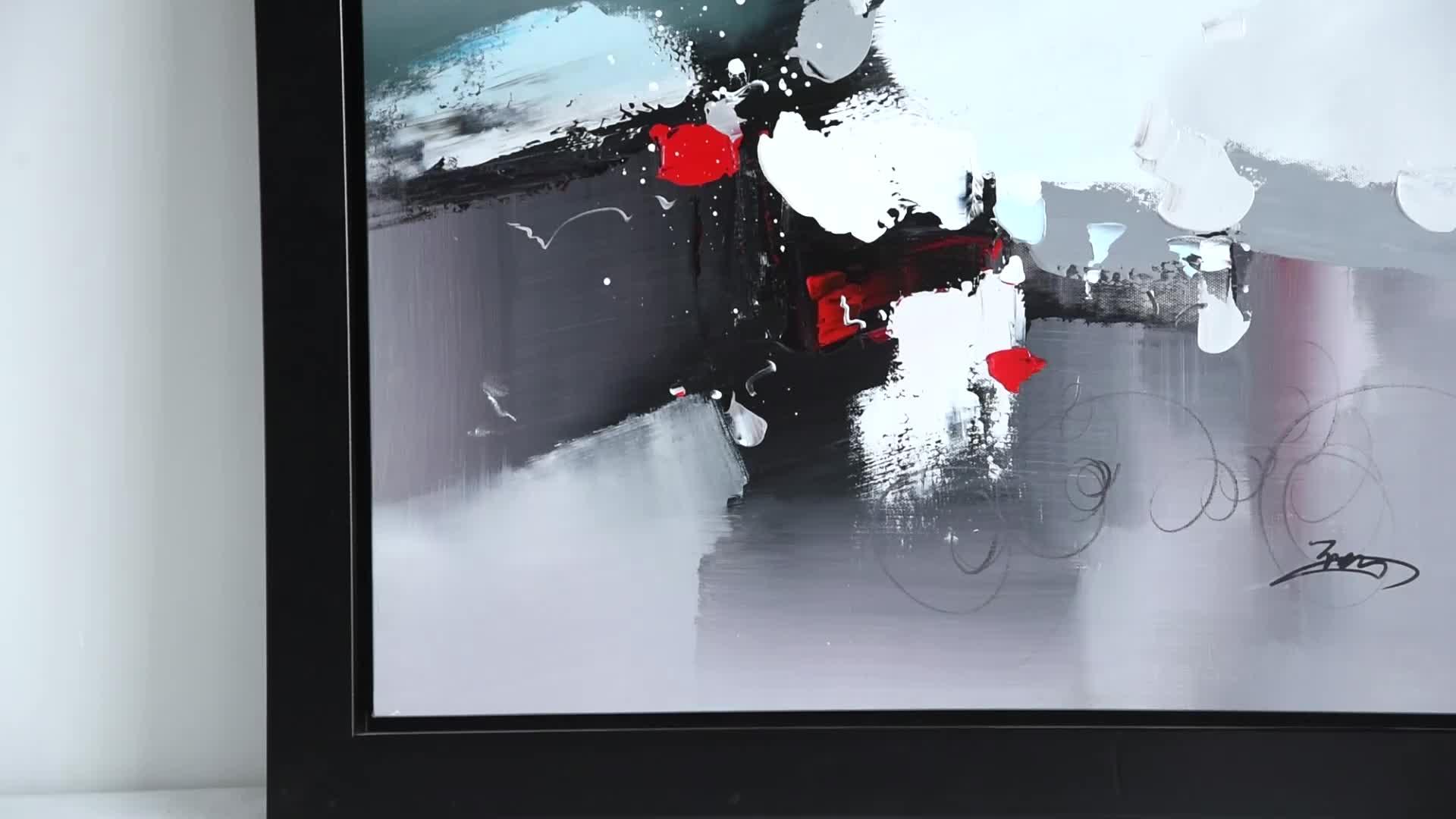 有名な中国手作り綿の油絵の複製キャンバス