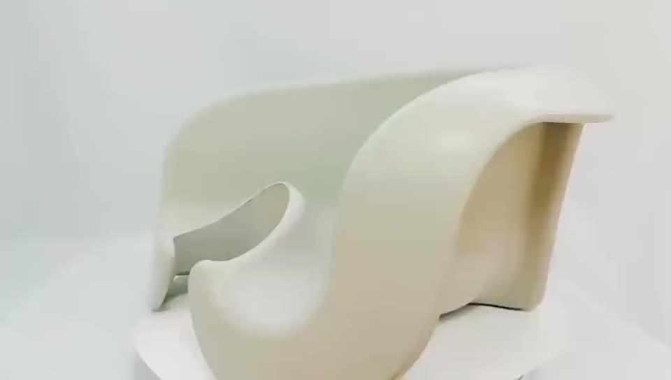 2019 新カスタムグレーカラー pu 泡かわいいベビークッションリサイクルシート