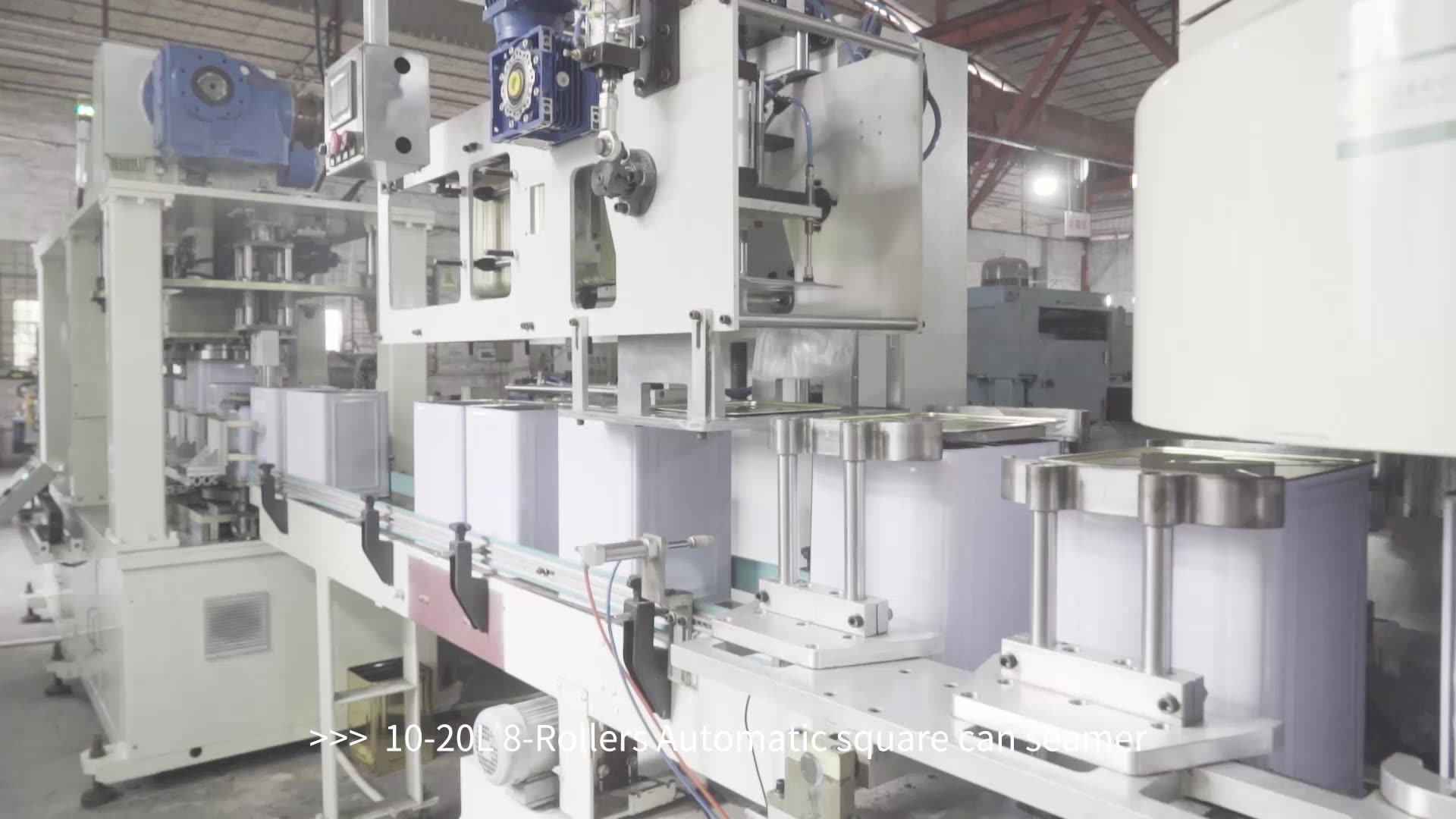 Yixin Technology 10-20L Automatic square can machine