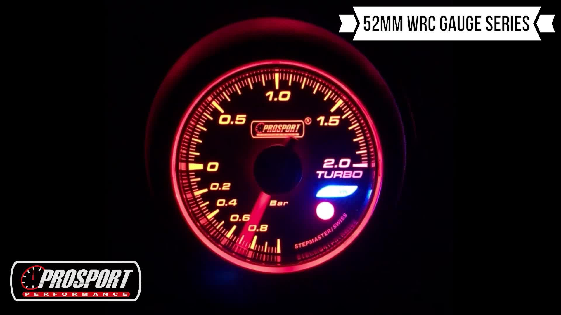 52mm Universal three colors LED car volt meter for auto