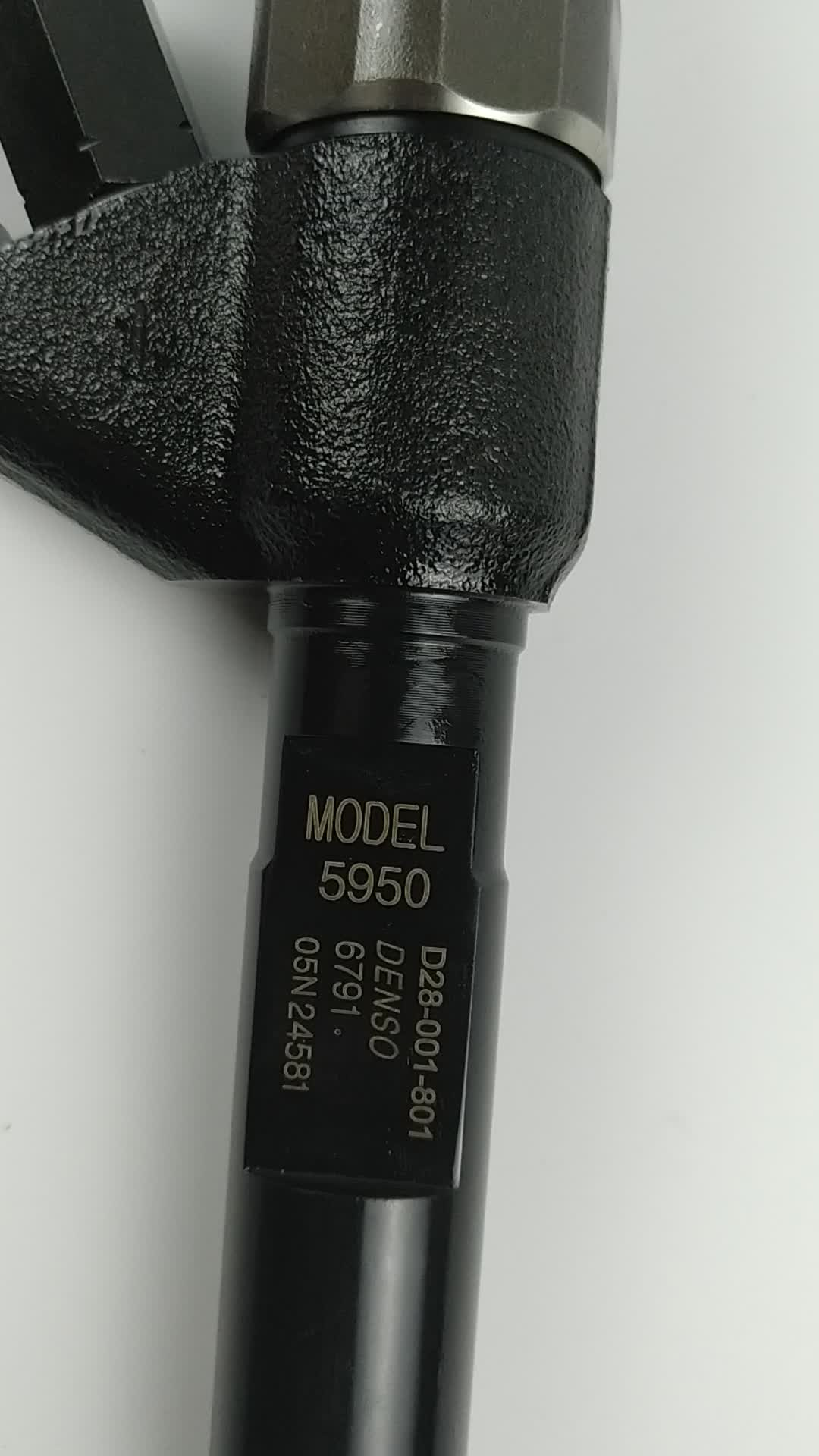 diesel Denso common rail fuel injector 095000-6791