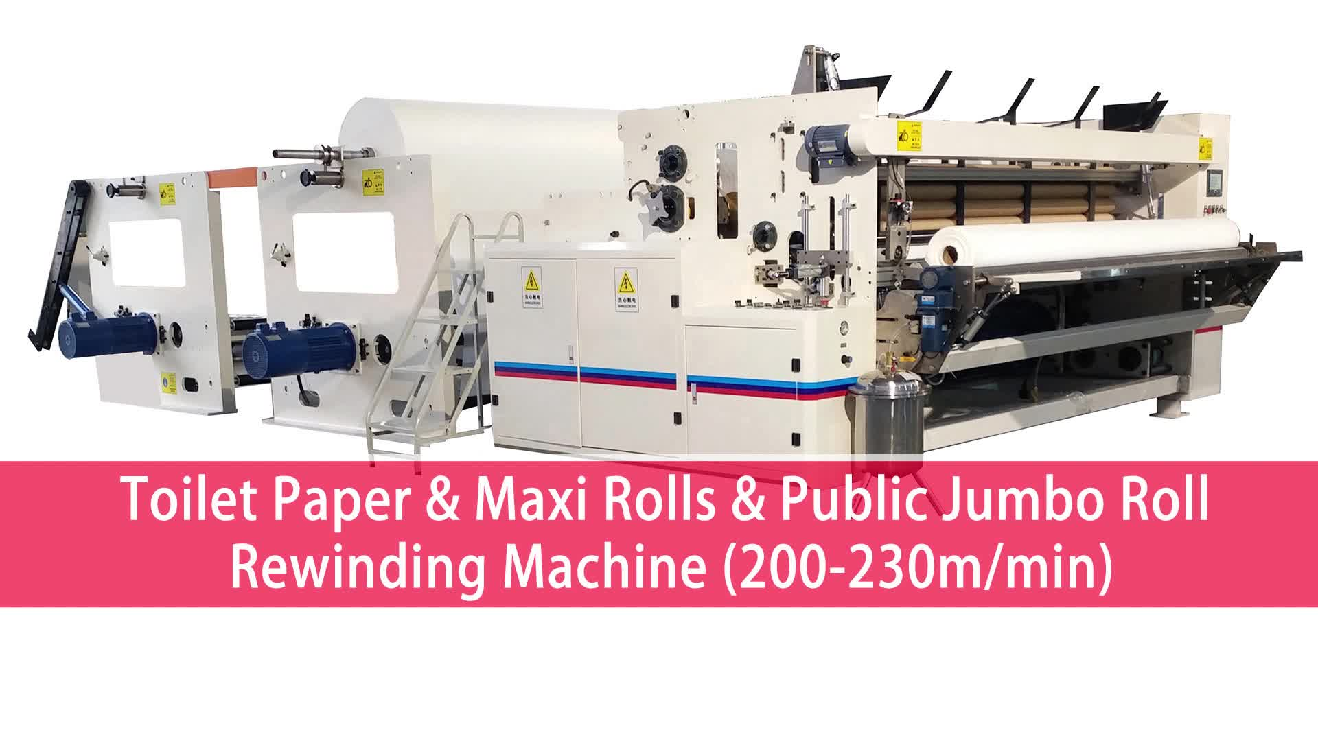 Toiletpapier Papierrol Productie Machines Met Fabriek Prijs