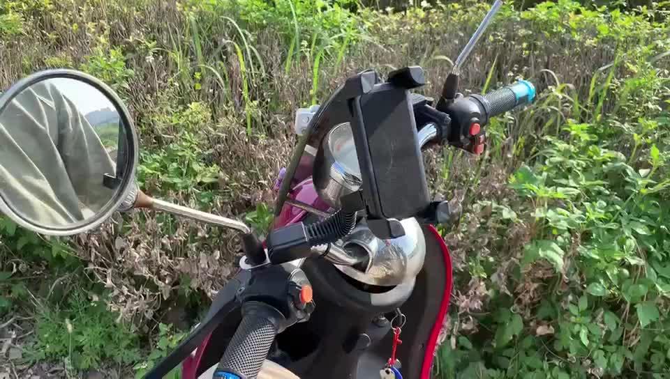 Hot Selling Plastic Mobile Phone Motorcycle Motorbike Motor Bike Holder Mount