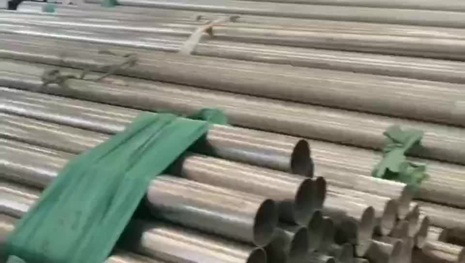 sus316l aisi316l stainless steel pipe surface processing