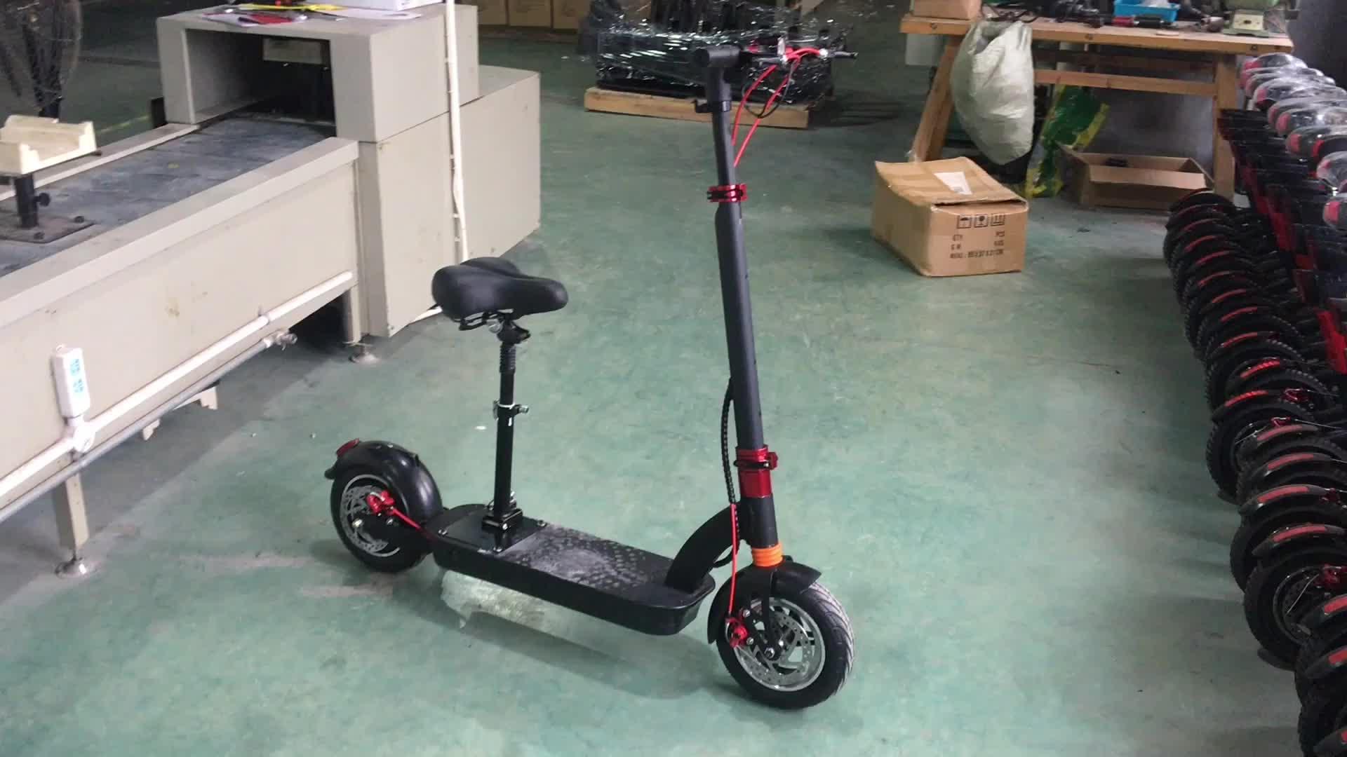 Aerlang 10 Inch Có Thể Gập Lại Scooter Điện Với Seat