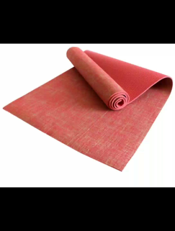 CYCHOS eco amichevole gomma naturale organico canapa stuoia di yoga/iuta lino e antiscivolo stuoia di yoga