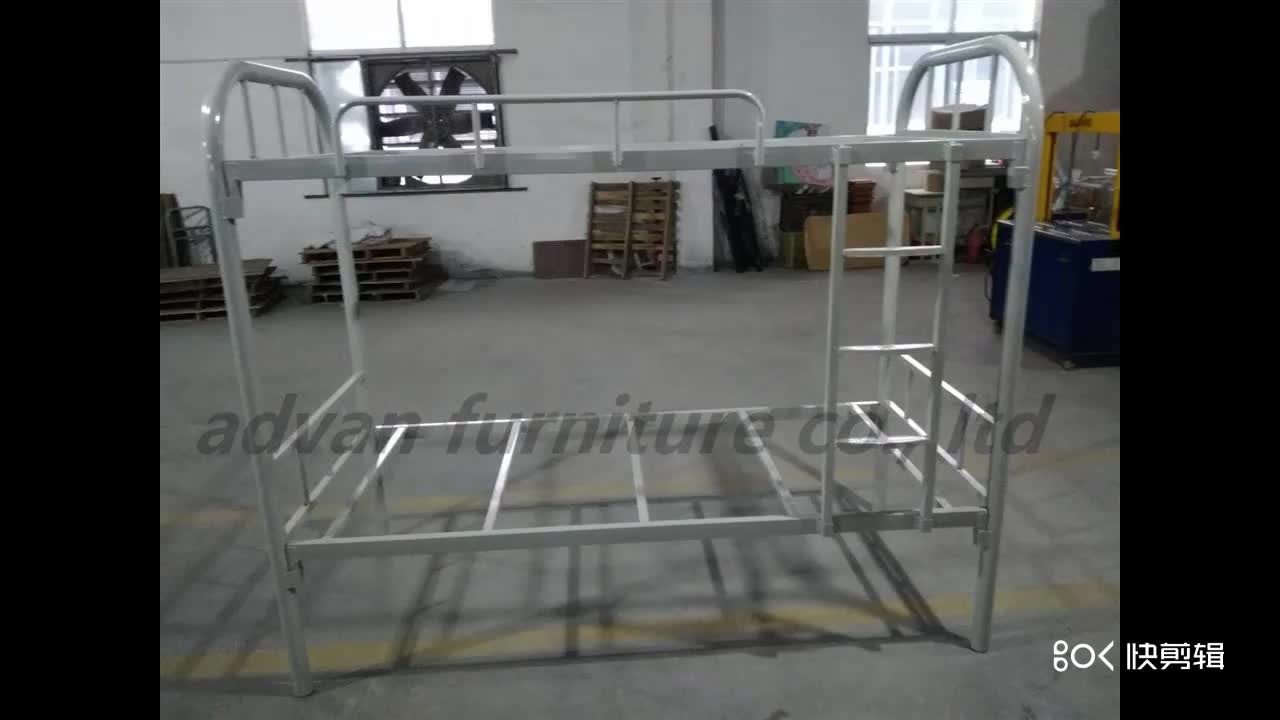 Hot sale high quality double bed,school furniture of factory price,Steel Double School Dorm Bunk Cheap Bed