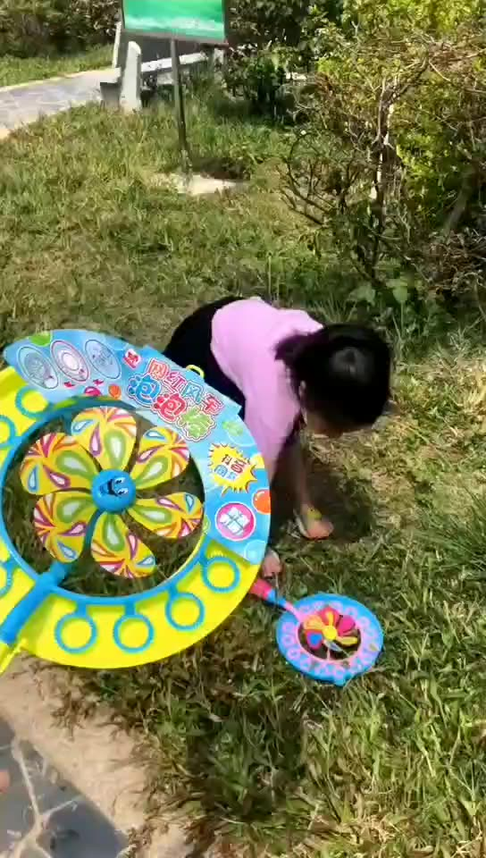 New Kids  Bubble Maker Cute Windmill Funny  Bubble Machine toys for kids
