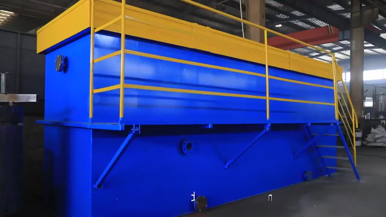daf tss removal system / daf for oil waste water treatment system