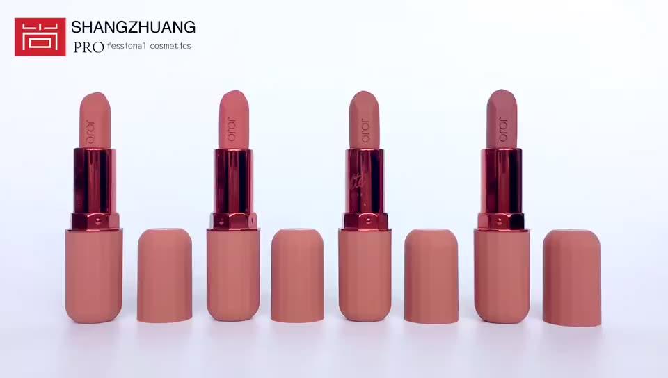 Haute Pigmentée Capsule Pilule Soyeux Velours Mat Rouge À Lèvres Marque Privée
