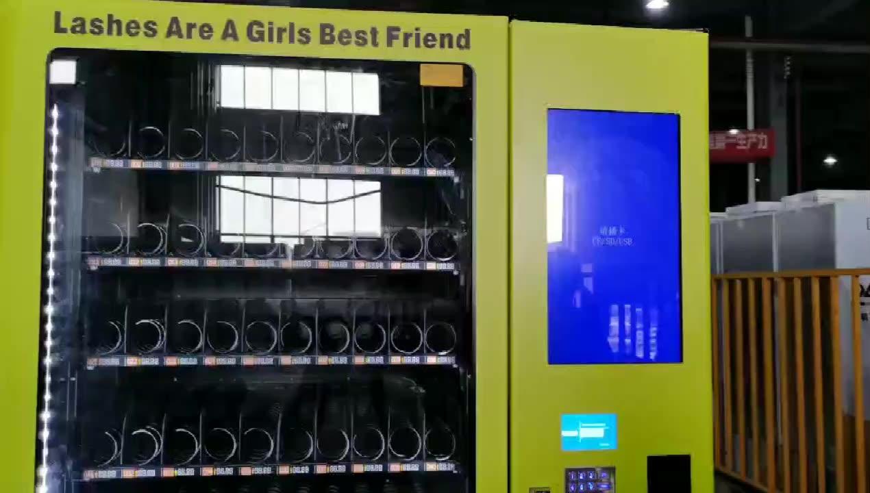 Neue ankunft schönheit automaten für wimpern und haar unterstützung karte zahlung