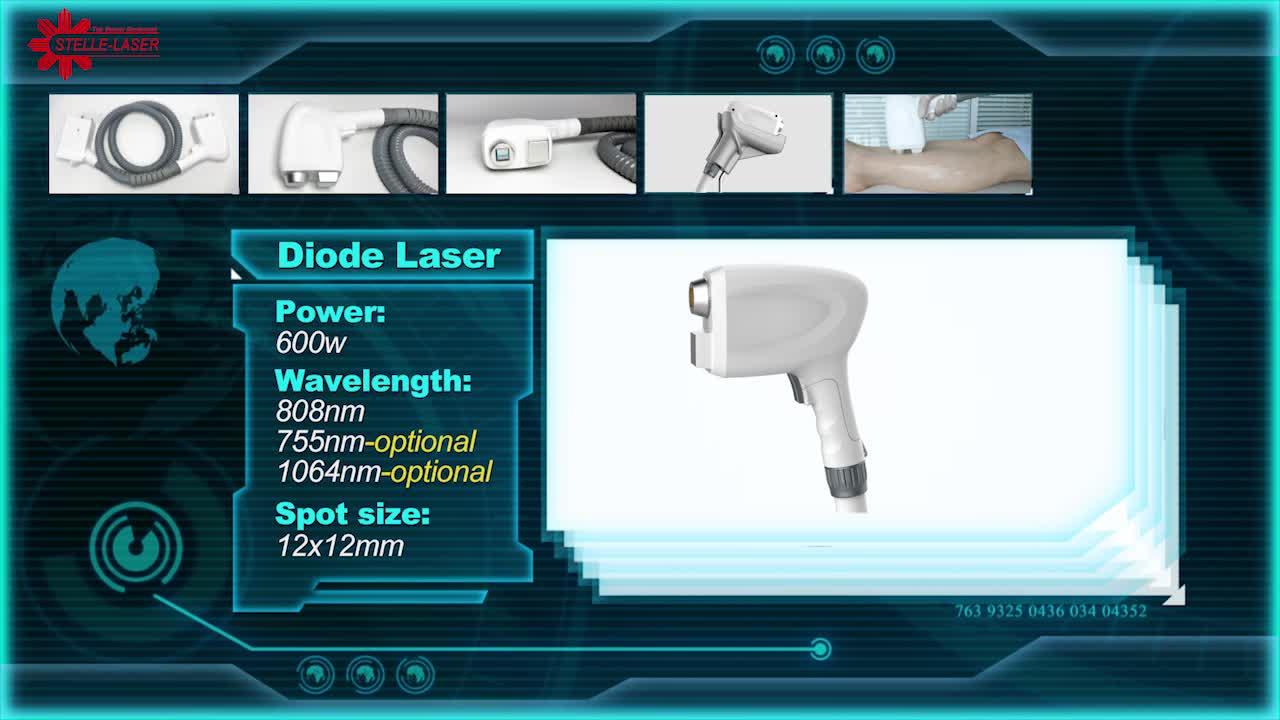 755nm 808nm 1064nm schoonheid laser CANDELA triple golflengte ontharing Alexandriet diode laser