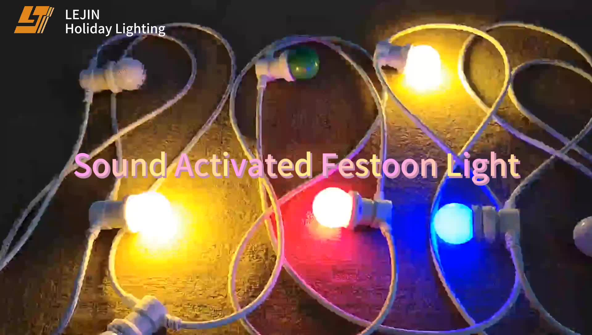New design rgb colorful bulbs musical waterproof led running belt light