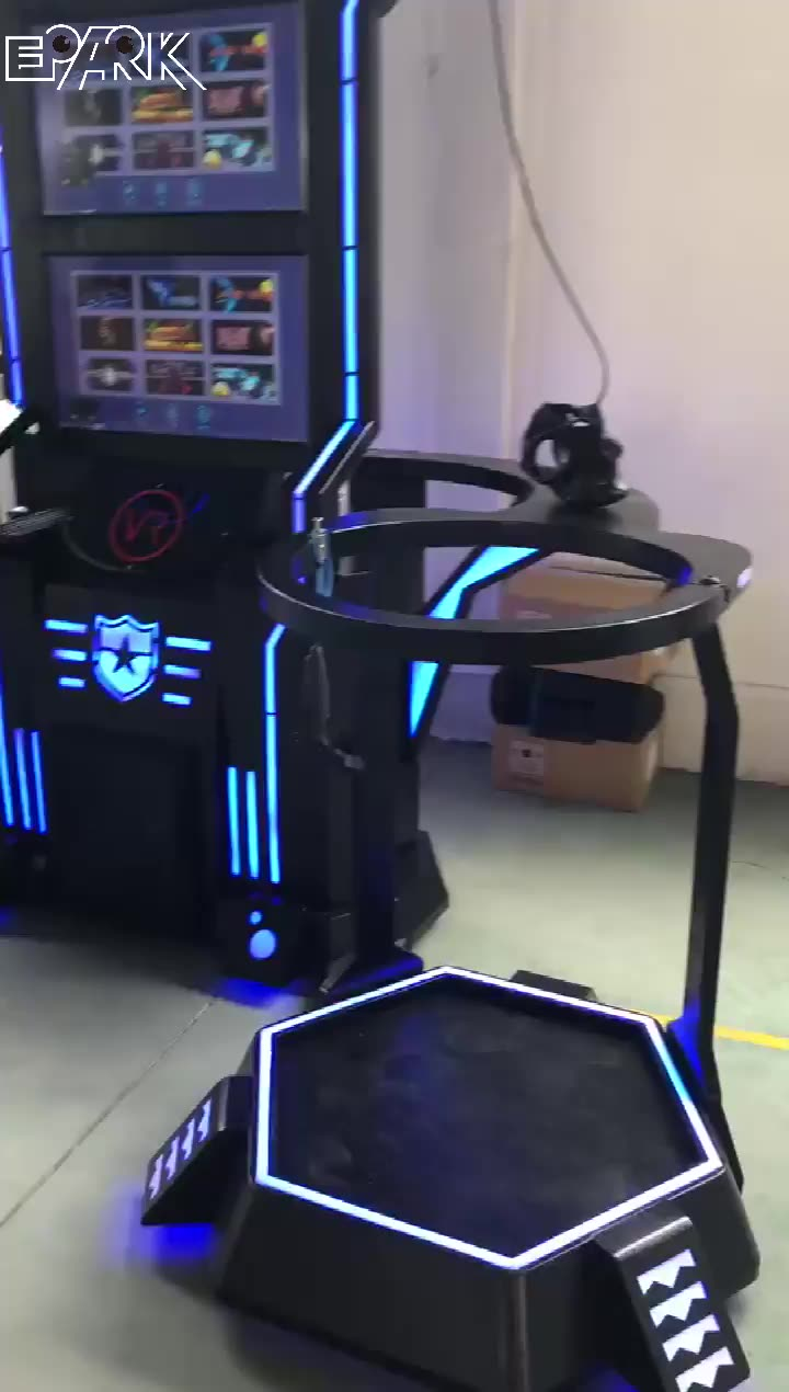 2 Players vr battle vr vive shooting simulator virtual reality arcade game machine for sale