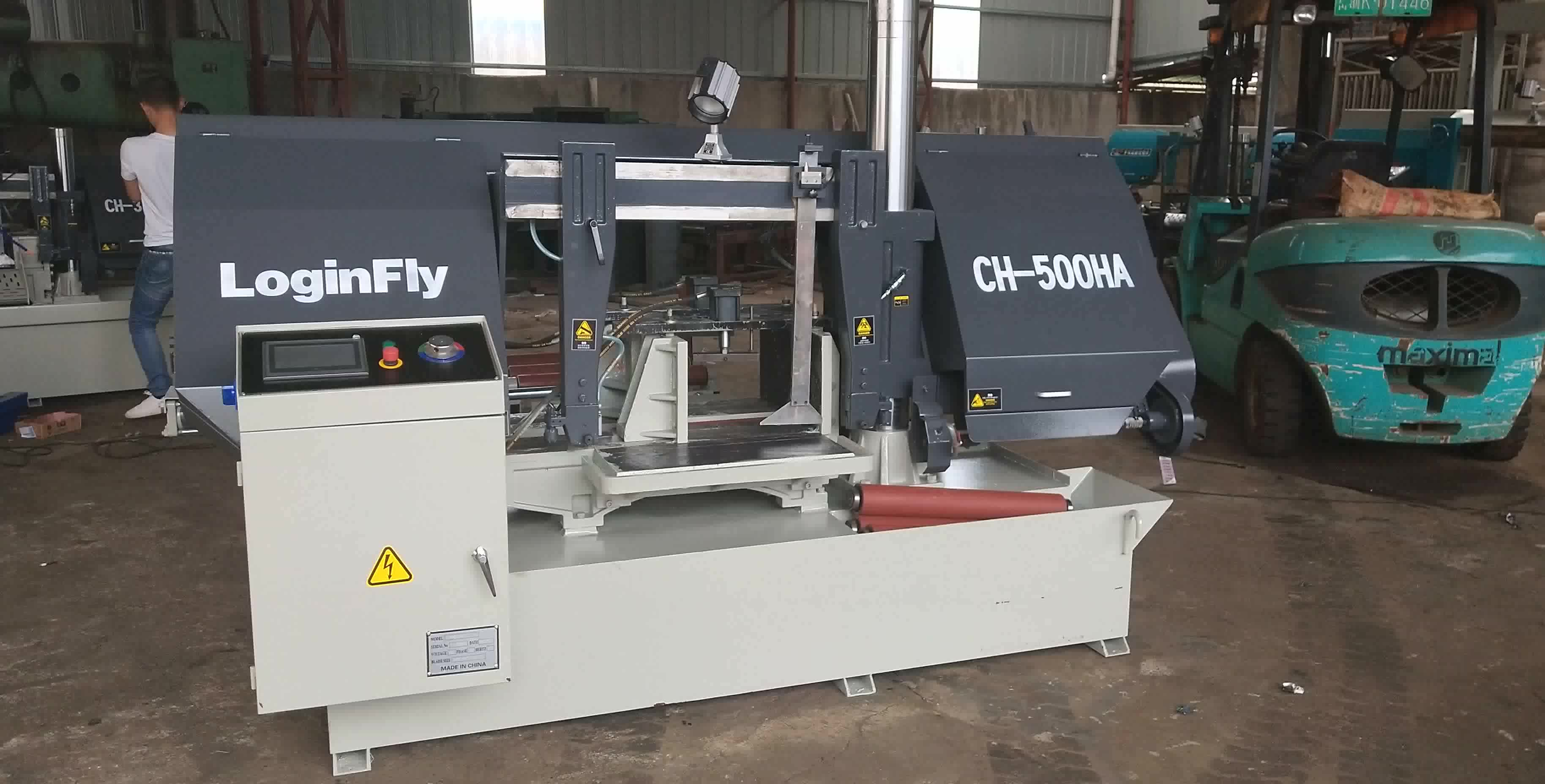 18 months Warranty CHINA Loginfly CE Automatic metal  Cutting Band Saw