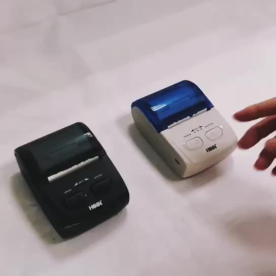 Android Mobile Printer With Rechargeable Battery Mini IOS Receipt Printer