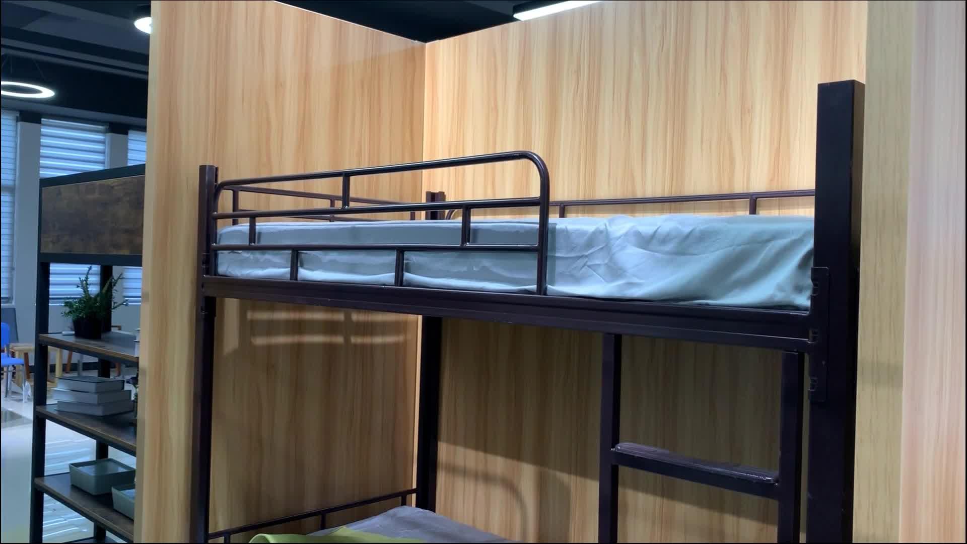 वयस्कों के लिए सैन्य सेना भारी शुल्क इस्पात चारपाई बिस्तर कीमतों, छात्रों धातु फ्रेम लोहे स्टील अपार्टमेंट जुड़वां डबल चारपाई बिस्तर