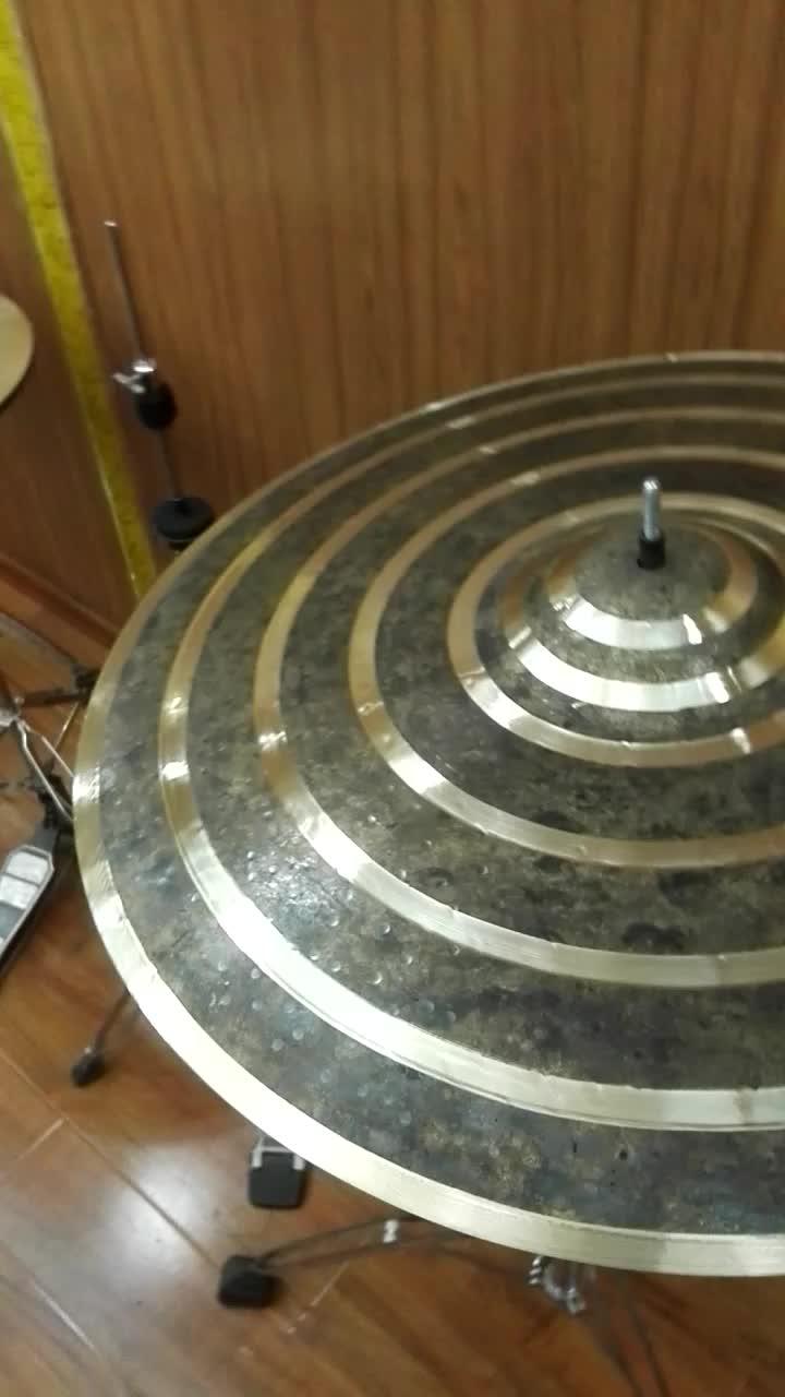 musical instrumental tongxiang platillos polishing cymbals