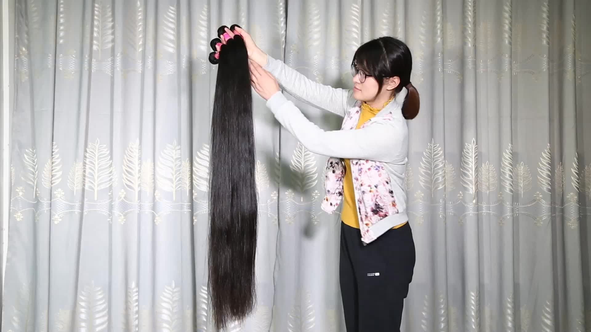 Unprocessed cheap straight weft Indian hair cuticle aligned vendors super double drawn virgin hair