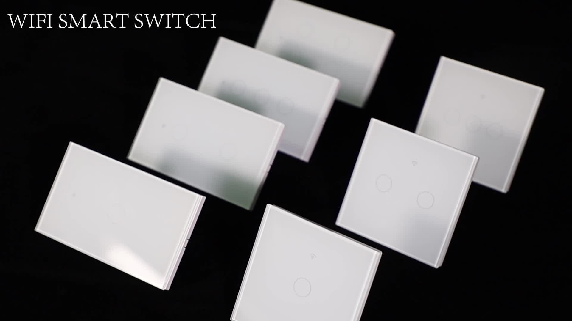 Европейская горячая Распродажа Smart Life App 2gang 1000 Вт Электрический беспроводной контроллер реле Wifi выключатель света для домашней системы автоматизации