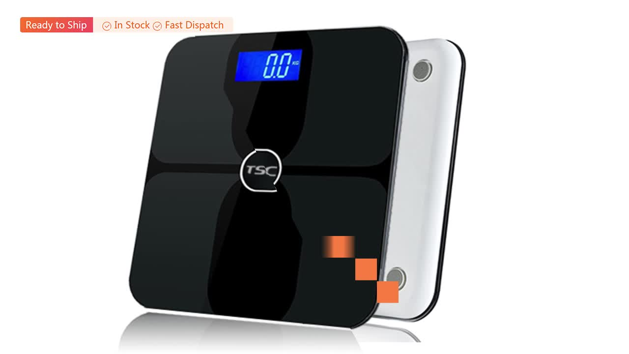 2020 Chameleon series electronic weighing digital bathroom scale