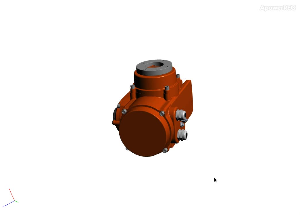 on/off turn motorized explosion proof electric ball valve actuator