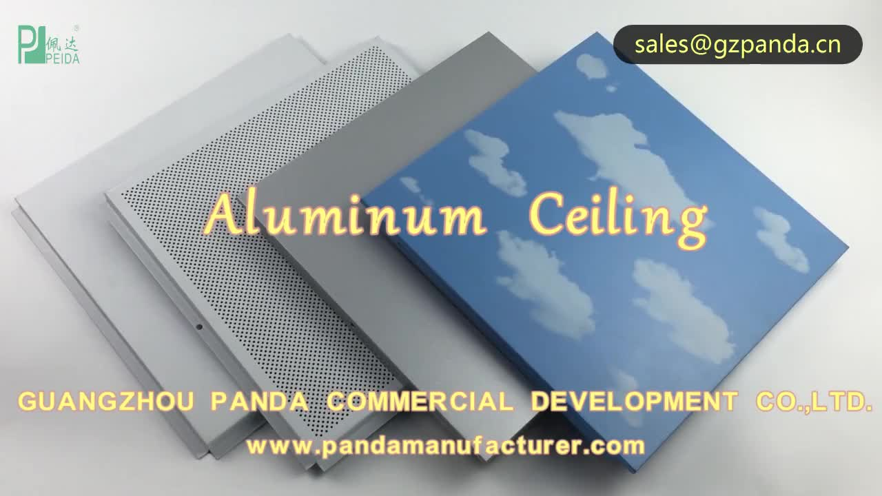 LC Payment Home Decorate False Ceiling Design Aluminum Coffered Ceiling
