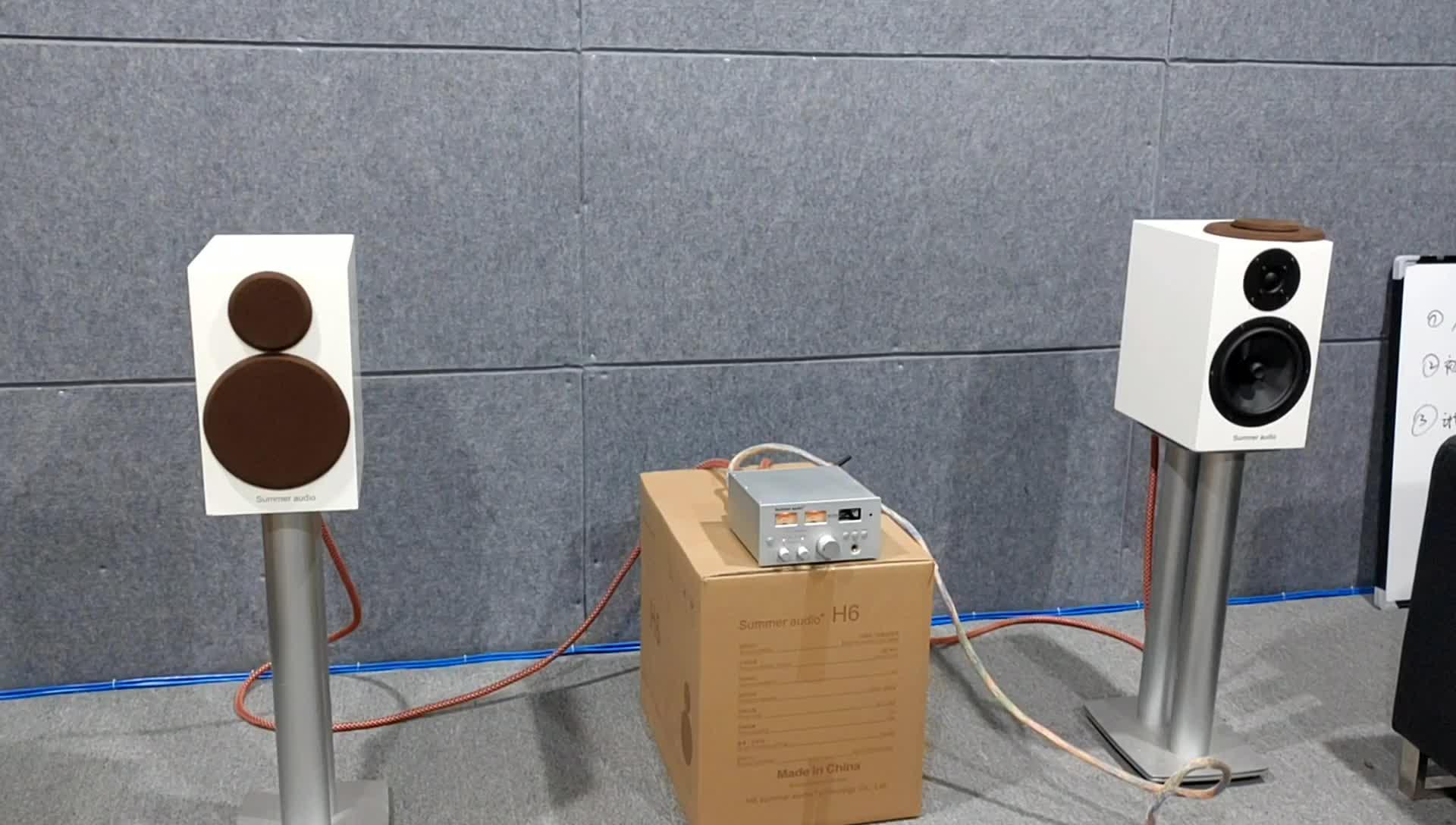 Summer Audio home professional hifi  bluetooth 5.0 Class D  Digital Power Audio Amplifier 2x150W AC 88-260V