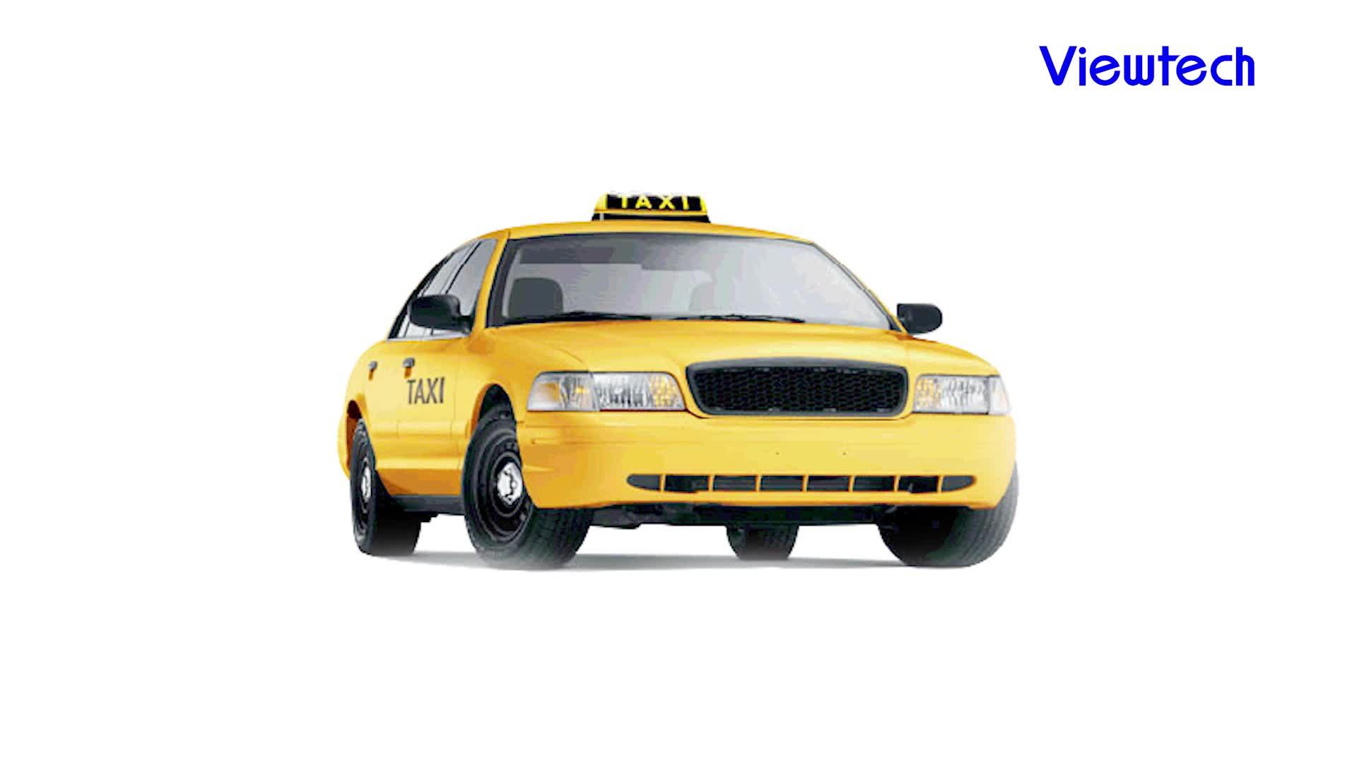 """สูง quality10.1 """"taxi 3 กรัมเครือข่าย lcd โฆษณา"""