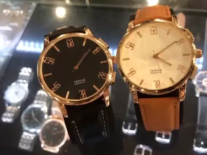 Yazole Z 393 Perfect Design Cheap Price Watch Men Slim High Quality Wristwatches
