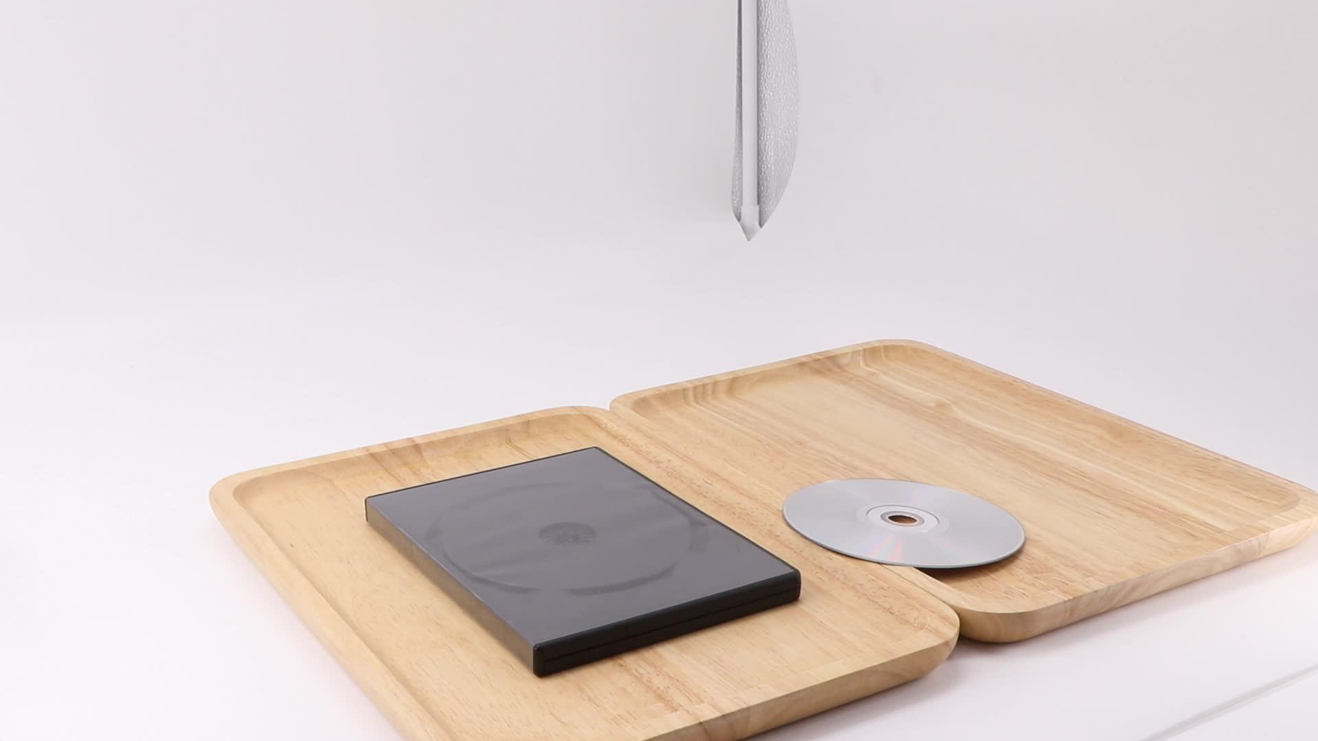 SUNSHING Atacado PP Material CD DVD Case Para um Único Disco de Plástico Preto 14mm da Caixa de DVD