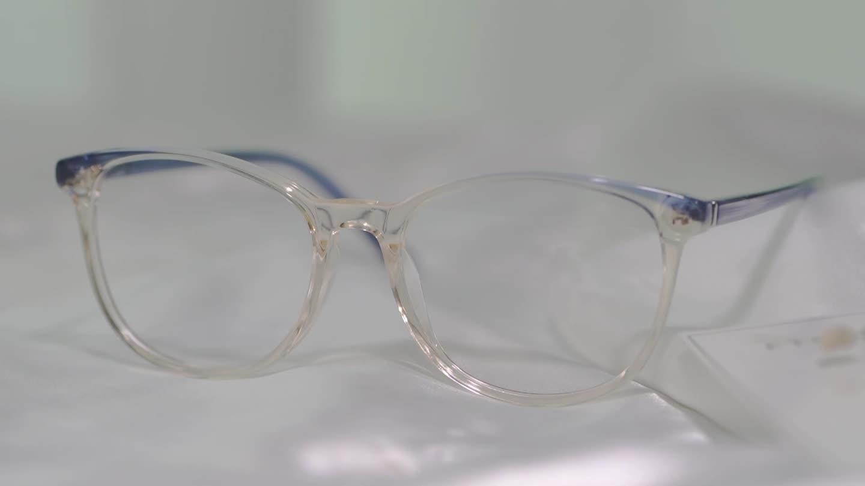 P3921 カスタムアセテート材料特別な珍しい眼鏡フレーム韓国