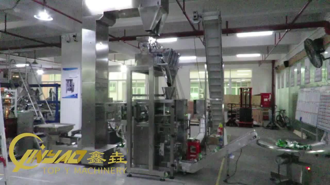 אוטומטי ביסקוויט מונג שעועית אנכי מכונת אריזת מילוי איטום מכונה עבור יבשים גרגר פירות שבבי