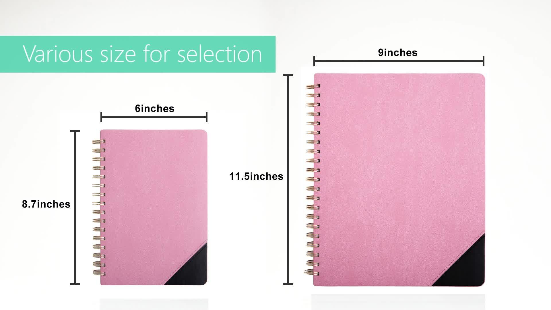 Marmo Hardcover Notebook Planner con Fascia Elastica