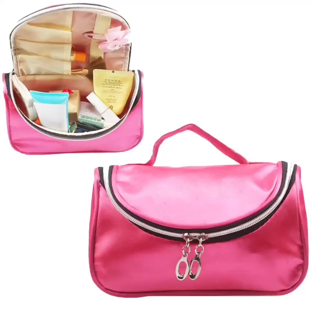 Makeup Bag Fashion Zipper Travel Toiletry Bag Multifunction Large Cosmetic Bags Organizer Handbags
