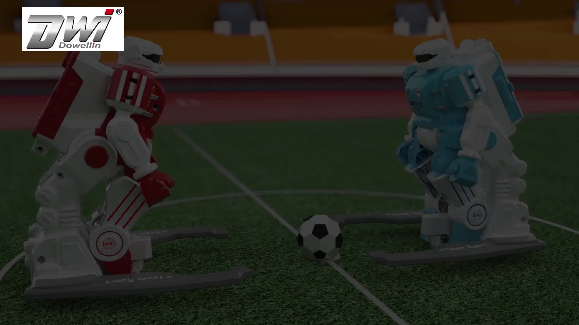DWI dowellin Innovative Smart Funny Intelligent Football Toy Humanoid Robot For Kids