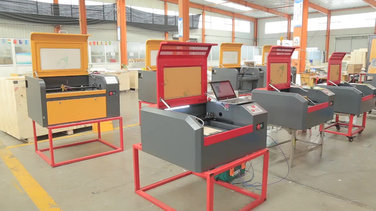 chinese factory low price 4040 off line 50w wood acrylic  laser cutting machine