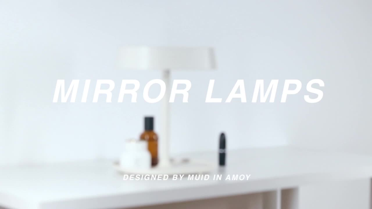 Top Sale Hollywood USB Rechargeable Light Mirror Makeup