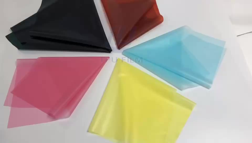 Skin friendly translucent TPU film for raincoat
