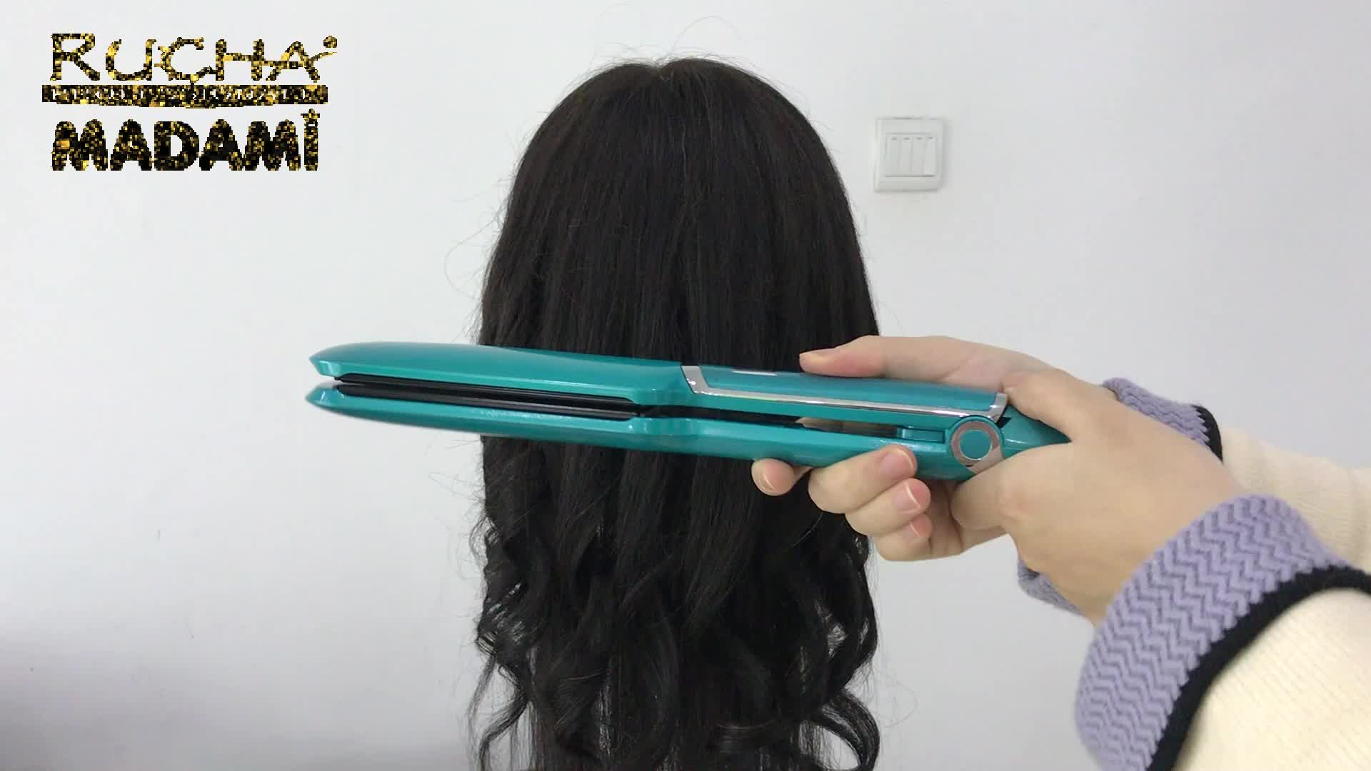 Private label 2 inch infrared hair straightener flat iron