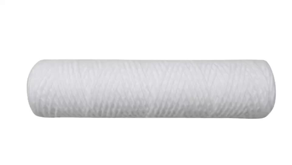 "PP Sediment String Wound Water Filter Cartridge for 10""x 2.5"" of 1Micron - 20Micron"